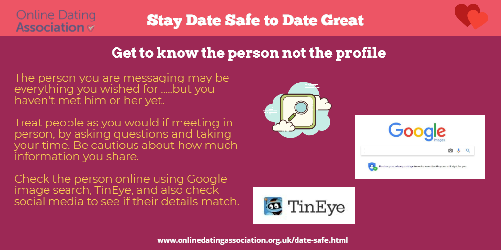 Safe dating a new person