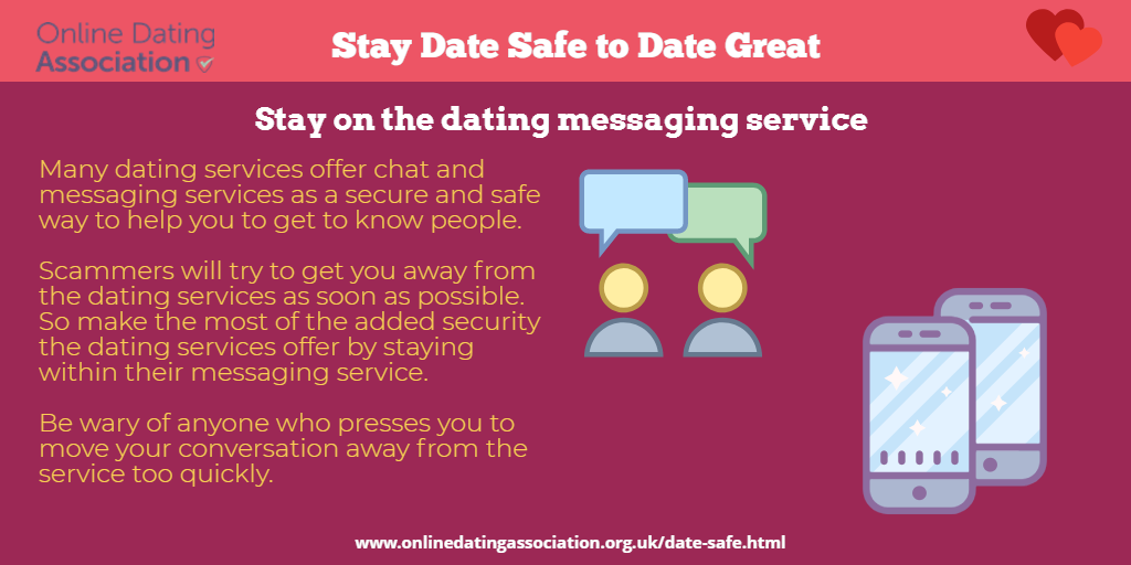 dating online safety uk